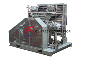 200bar Ballon Piston Helium Gas Recovery Compressor