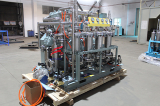 Quiet Car Oil Free Co2 Piston Compressor Supplier
